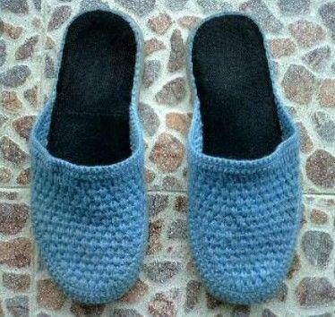 #crochet #pantunflas