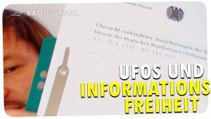UFOs und Informationsfreiheit | ExoJournal