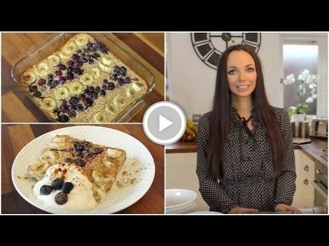 Baked Blueberry & Banana Oats   Deskfast for Shake up Your Wake Up!