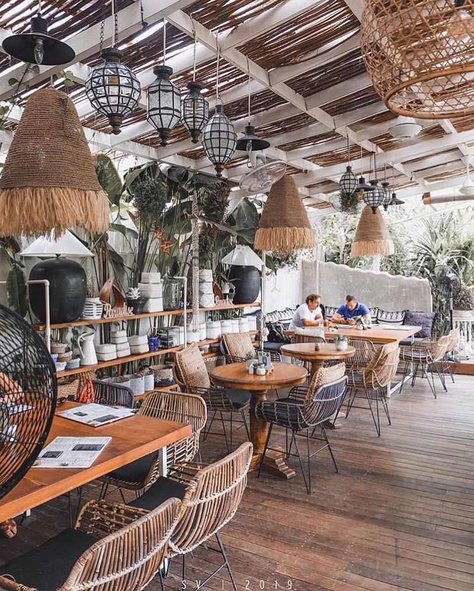 Restaurant Bar Design Guide On Instagram Restaurant Milu By Nook Bali Indonesia S Venton D Desain Restoran Desain Tropis