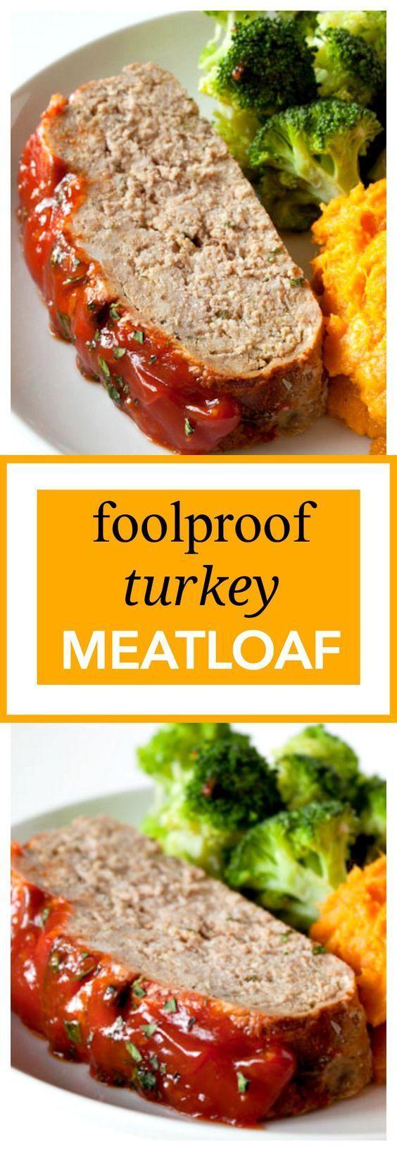 Photo of Fool Proof Turkey Meatloaf