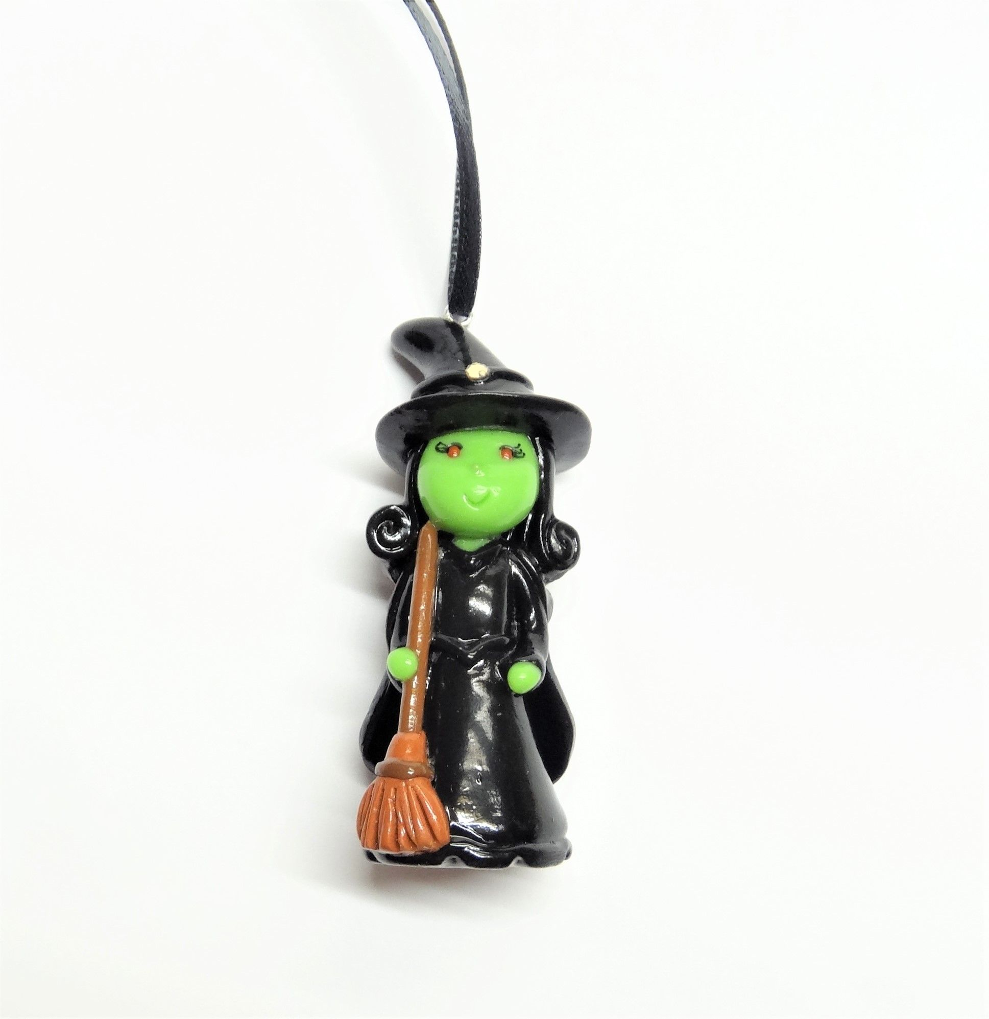 Green Witch Ornament | Unique items products, Ornaments ...