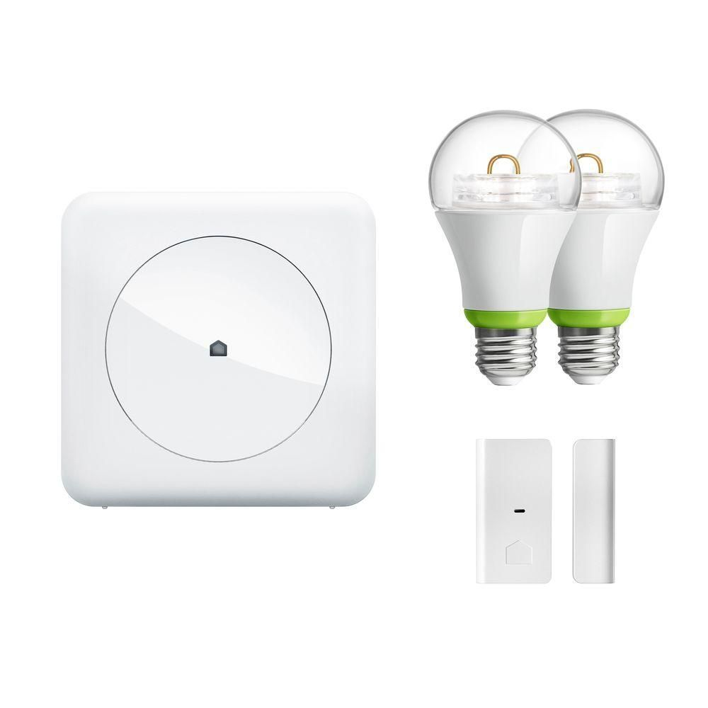 Smart Light and Monitor Kit 1 Quirky + GE Tripper + 2 GE