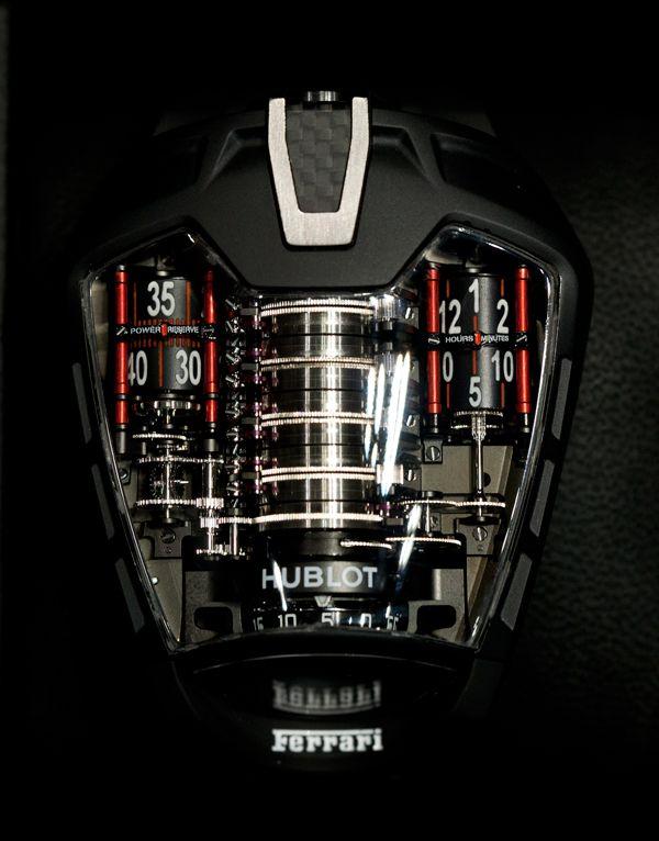 Hublot Mp 05 La Ferrari Tourbillon Horloge Ferrari Armband