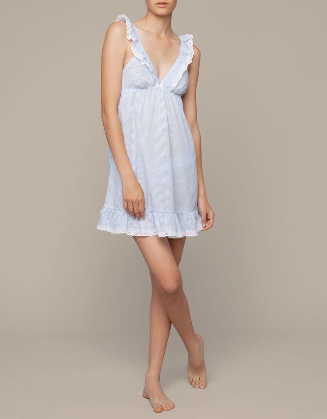 Stripe print nightdress - Nighties & Jumpsuits - France