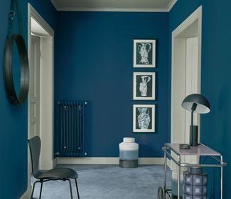 24 Blaue Wandfarbe Wirkung