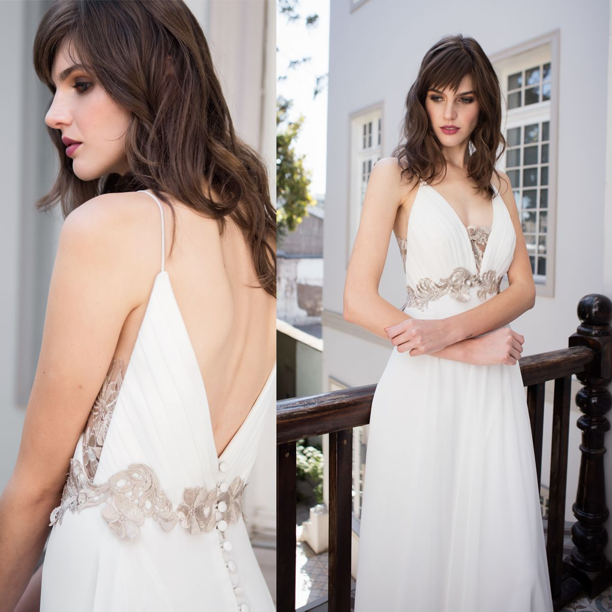 Vestido de Novia Griego · Grecian Wedding Dress #grecianweddingdresses