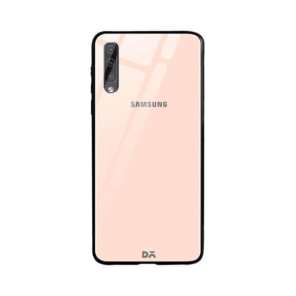 DailyObjects Pastel Peach Glass Case Cover For Samsung Galaxy A70S Buy