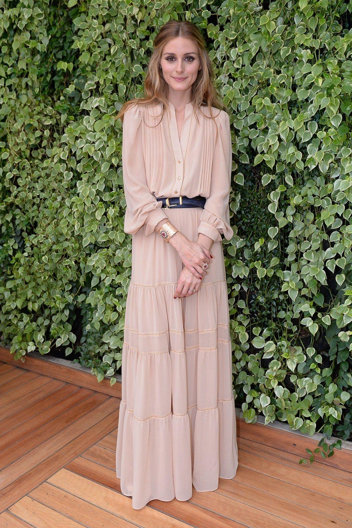 9f93ded2a8b7 Olivia Palermo, Mango dress, jewelry designer Emar Batalha   fashion ...