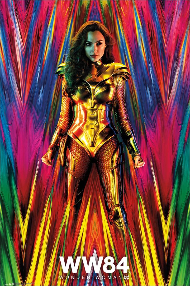 Wonder Woman 1984 Teaser Maxi Poster In 2020 Gal Gadot Wonder Woman Wonder Woman Movie Wonder Woman
