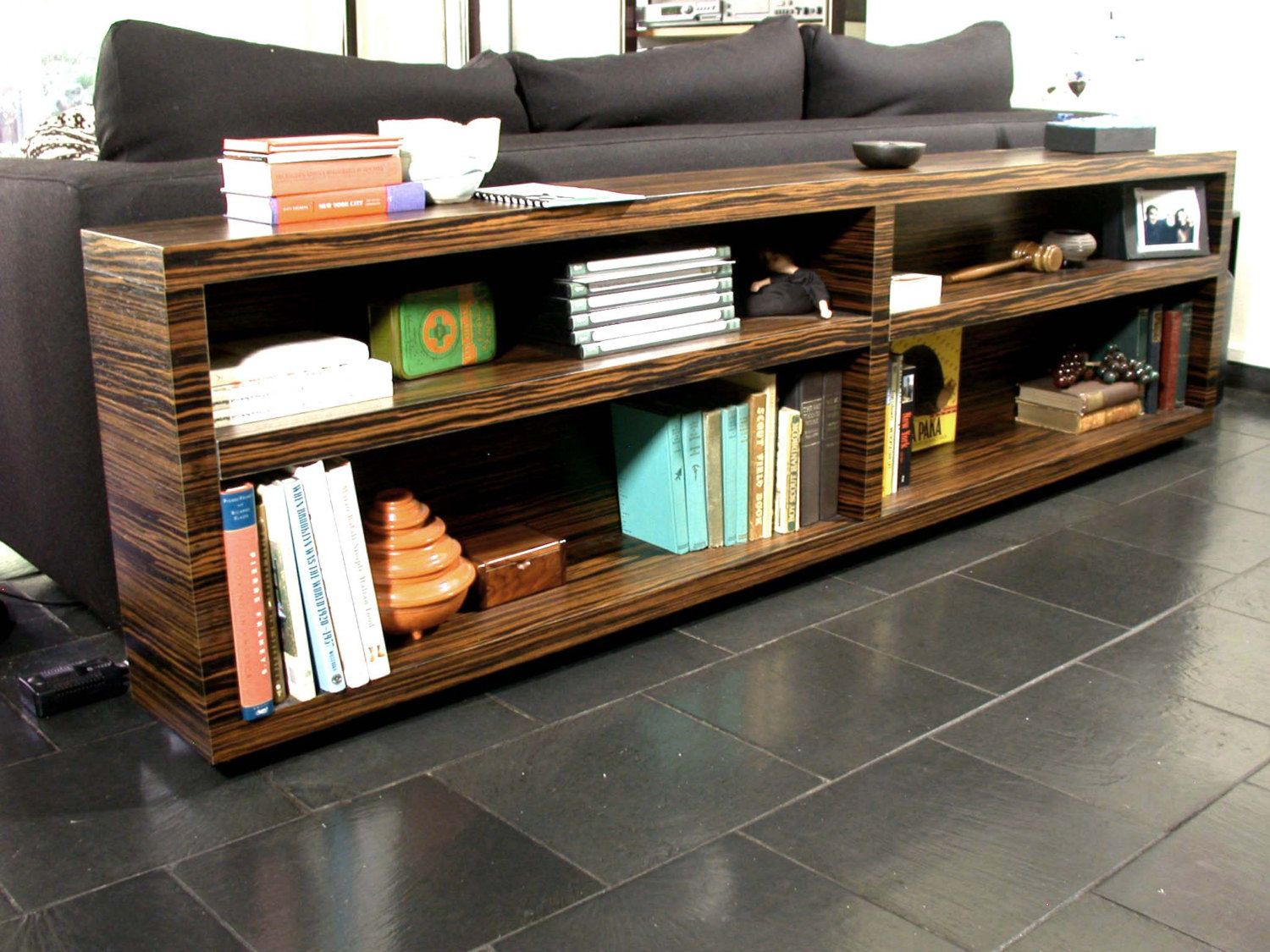 Bookcase Modern Home Decor Office Media By DLdesignworks 180000