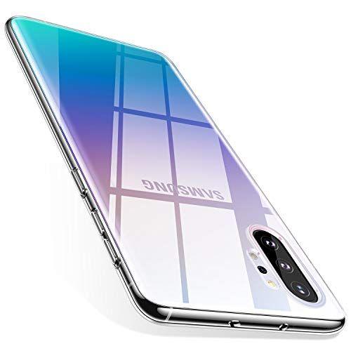 TORRAS Galaxy Note 10 Plus Case/Galaxy Note 10 Plus 5G Case Crystal Clear Ultra-Thin Slim ...