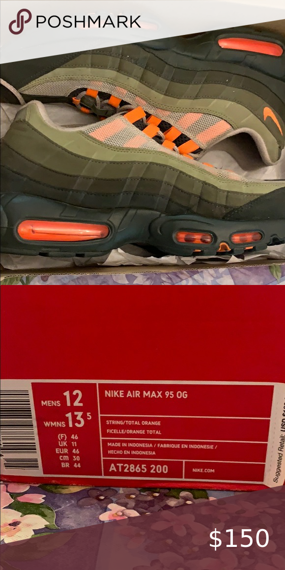 Nike air max 95 OG size 12 in 2020