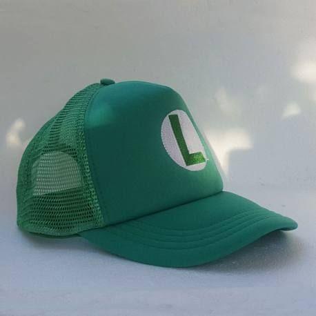 Super Mario Bros - Gorra Luigi  a9c6391c145