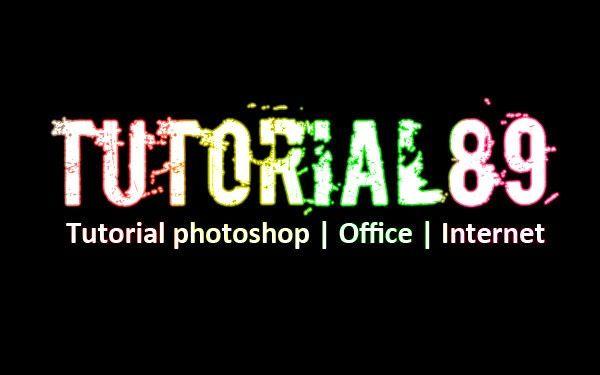 Cara Membuat Tulisan Efek Neon Glow Dengan Photoshop Tulisan Photoshop Neon