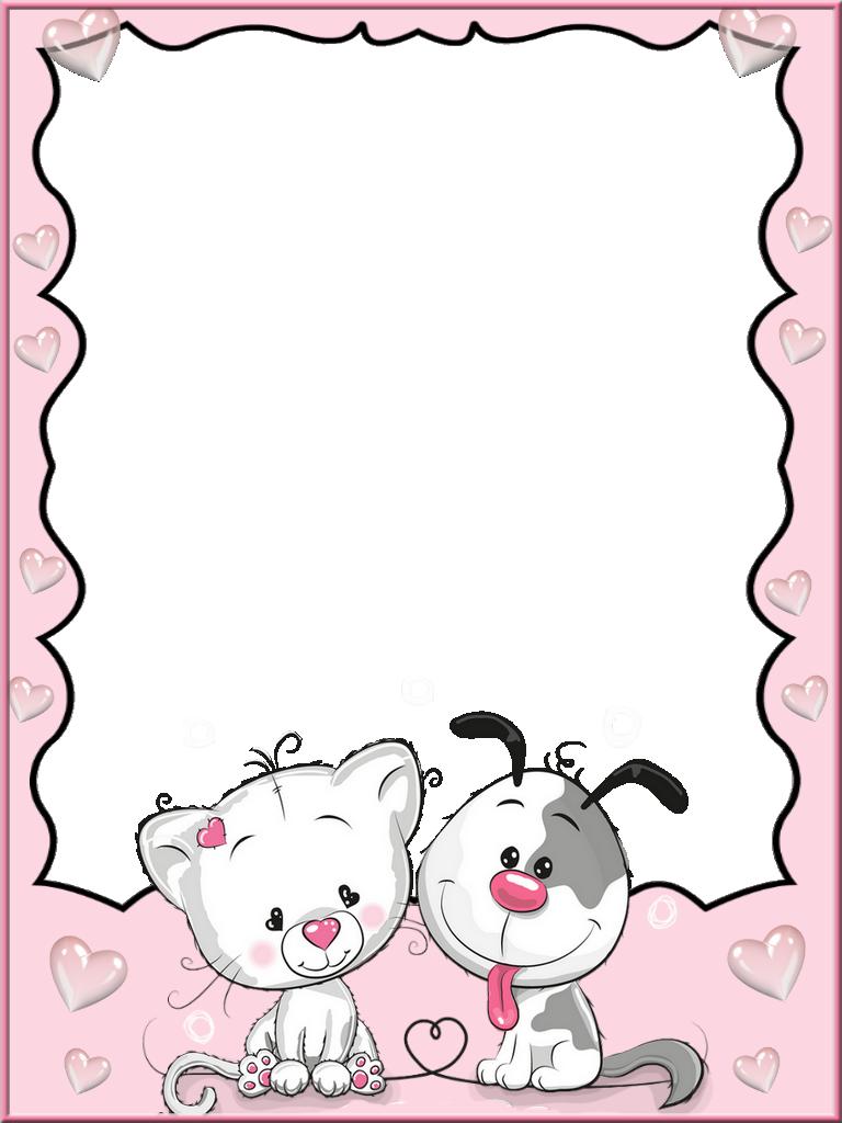 Frame For Children Png Cartoon Template Page Borders Design Frame Border Design