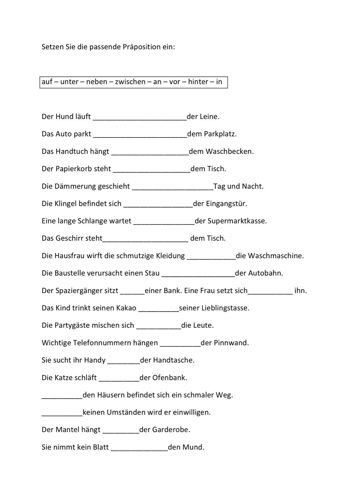Verschiedene Anagramme (3) - Aphasie | Präpositionen | Pinterest ...