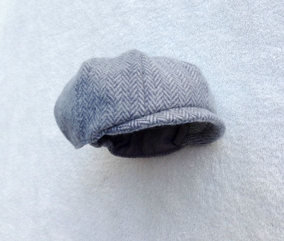 Ready To Ship Newborn Newsboy Cap Blue Newsboy Baby Boy