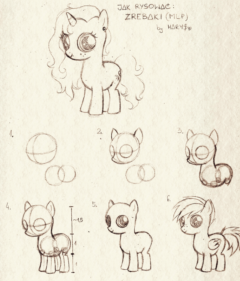 Mlp Tutorial Foals By Hariamart Deviantart Com On Deviantart My Little Pony Drawing Pony Drawing My Little Pony Characters