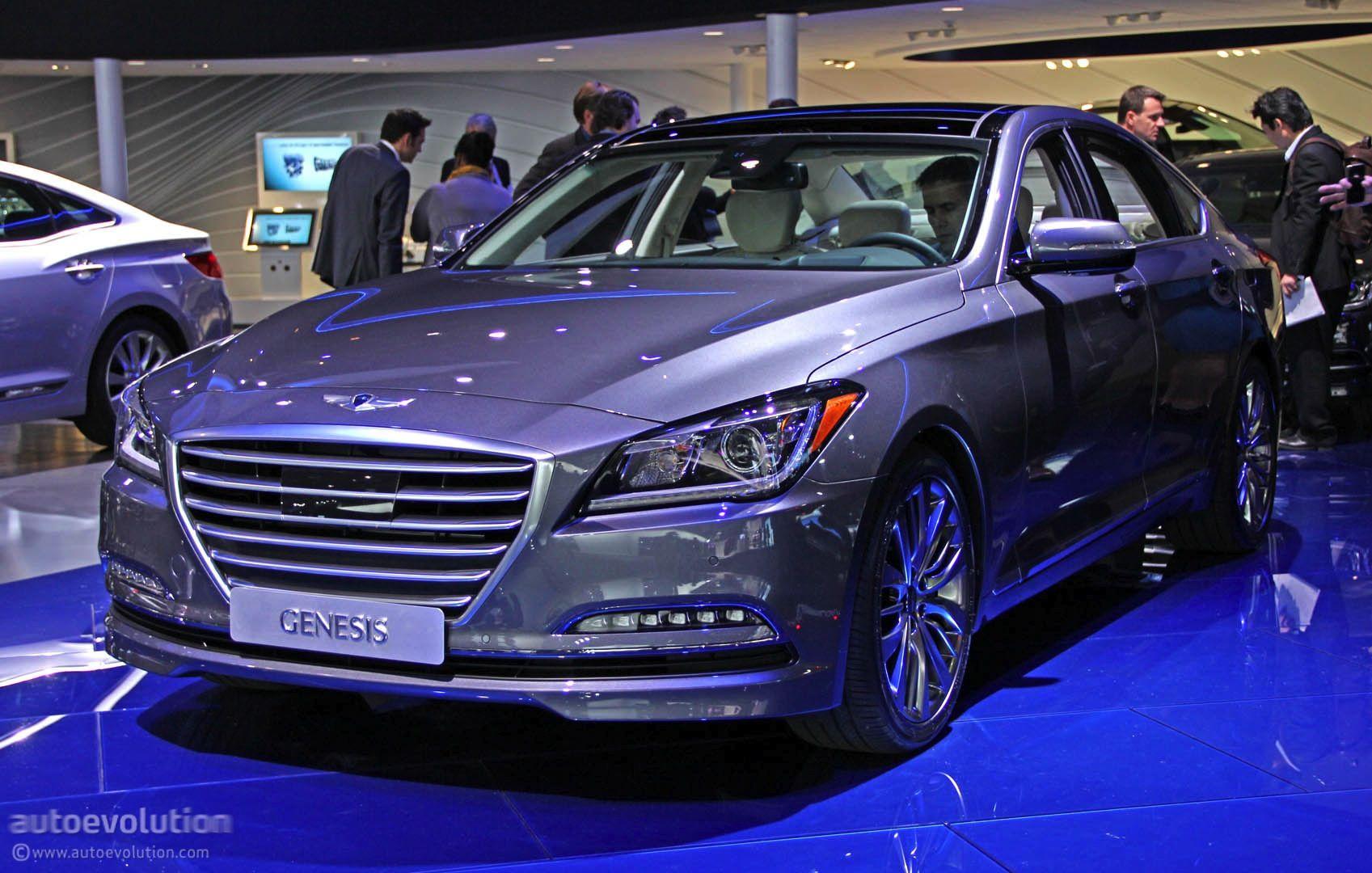 2015 Hyundai Genesis Luxury Sedan Revealed In Detroit Live Photos Luxury Sedan 2015 Hyundai Genesis Hyundai Genesis