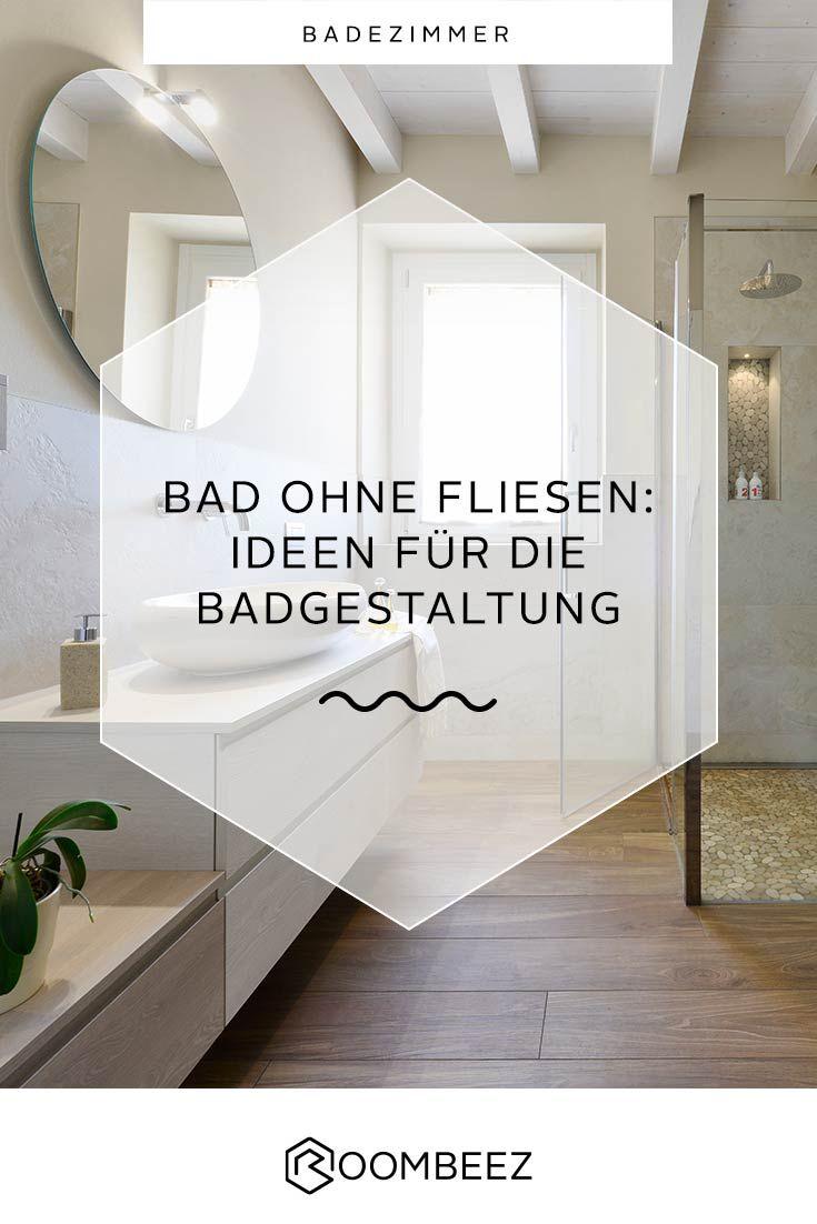 Bad Ohne Fliesen Ideen Fur Die Wandgestaltung Otto Badezimmer Badezimmer Fliesen Hausbau Tipps