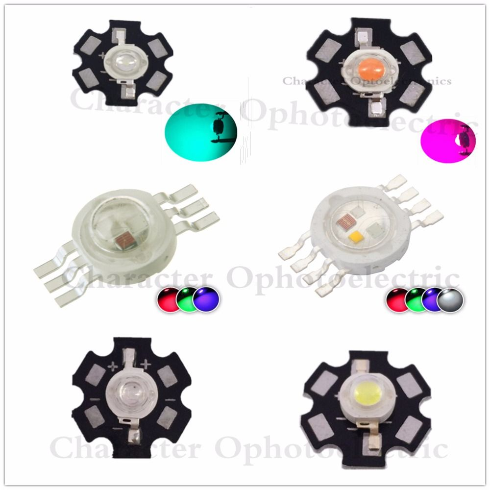 10pcs 1w 3w 5w Warm White Royal Blue Orange Uv Violet Rgb High Power Led Chip Light With Pcb Or Not Pcb Lot Affiliate Light Accessories Power Led Rgb Led