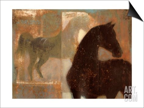 Weathered Equine I SwitchArt™ Print by Norman Wyatt Jr. at Art.com