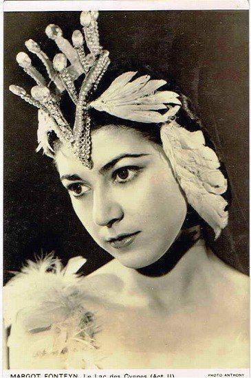 Margot FONTEYN.Марго Фонтейн Одетта Сэдлерс Уэлс Балет 1945