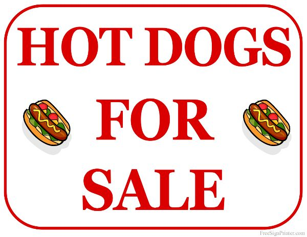 Image result for HOT DOG SALE