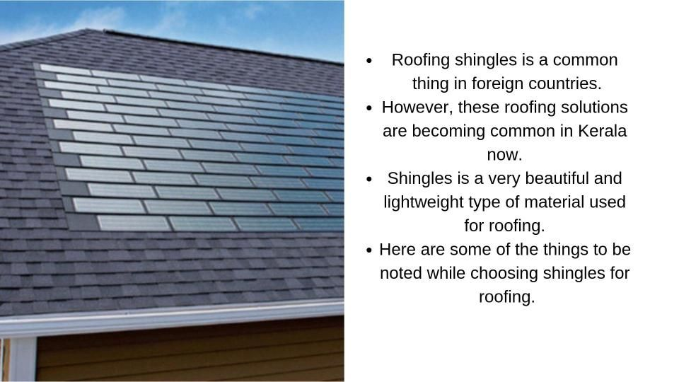 best roofing shingles in kerala Roof shingles, Cool roof