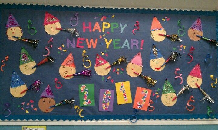 Our New Year's bulletin board :-)   Kindergarten bulletin ...