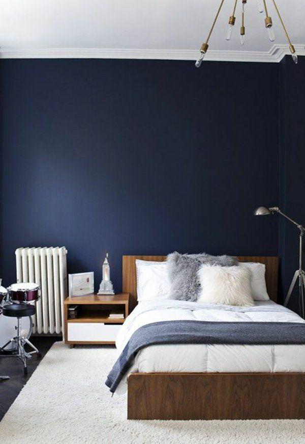Schlafzimmer Einrichtungstipps schlafzimmer einrichtungstipps wendfarbe blau wandgestaltung