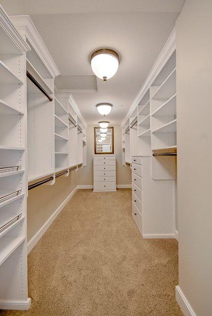 empty walk in closet. An Empty Closet Walk In