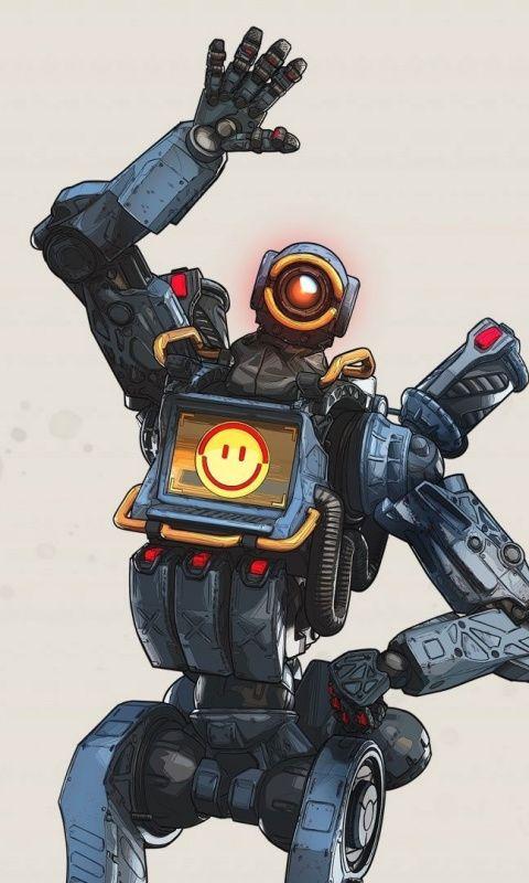 Pathfinder Robot Apex Legends Video Game 480x800 Wallpaper Legend Game Character Design Pathfinder