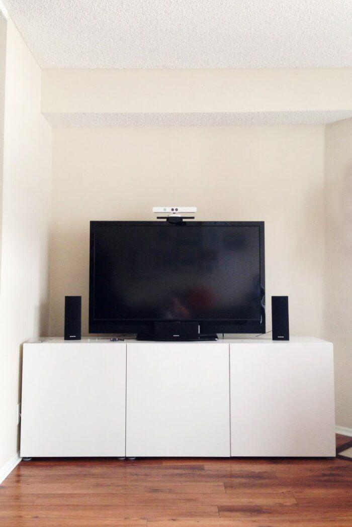 meuble besta ikea rangement modulable en 27 ides top - Meuble Tv Blanc Design Ikea