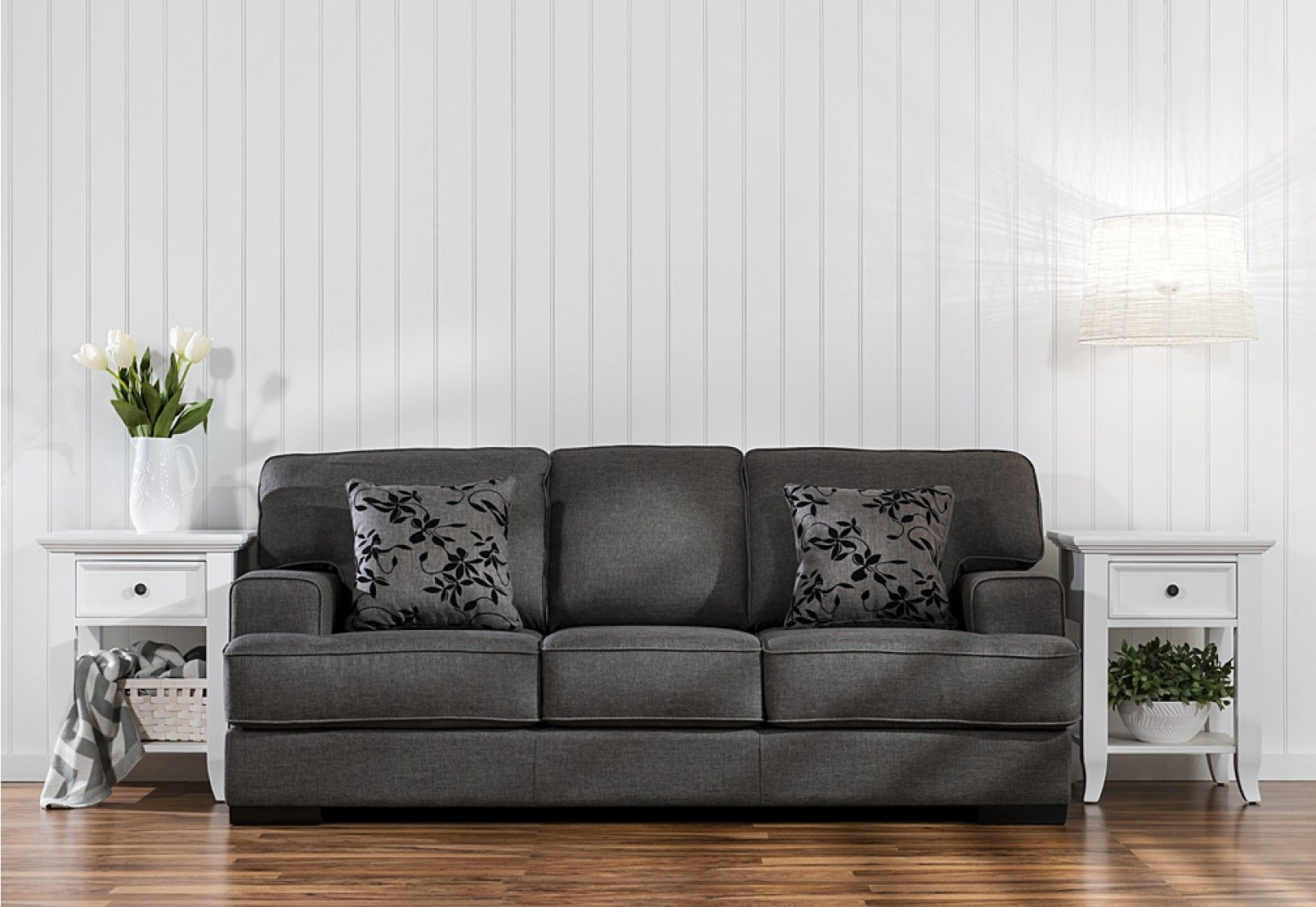 Betty Fabric 3 Seater Sofa Bed | Amart Furniture