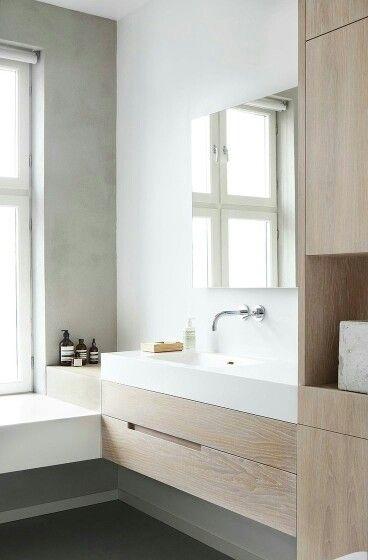 Bad Waschtisch  Μπανιο  Pinterest  Master Bathrooms Bath And Cool Designer Bathroom Cabinet Decorating Inspiration