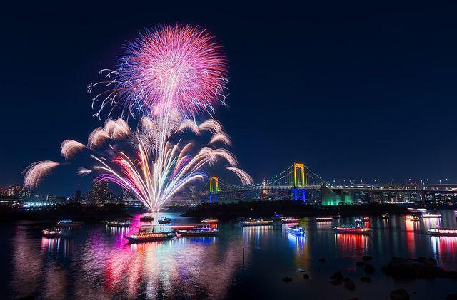 Rainbows And Fireworks Fireworks Wallpaper Computer Wallpaper Desktop Wallpapers Fireworks