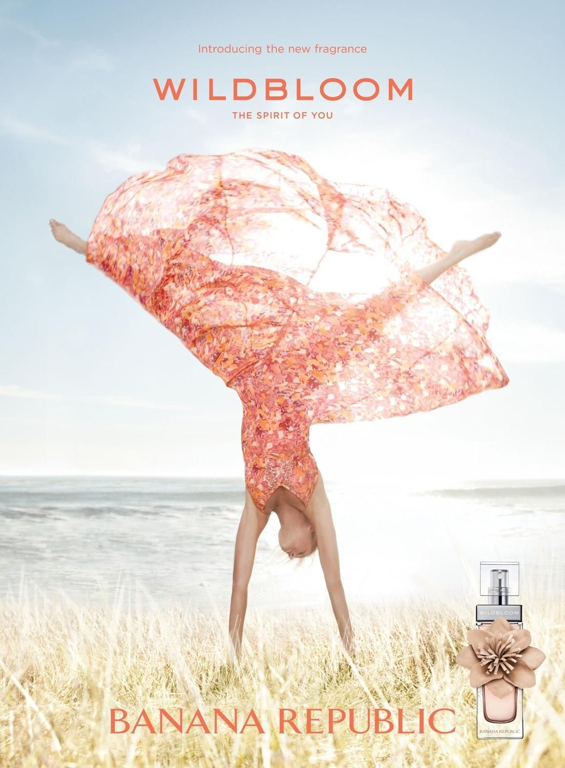 Photo Banana Republic Wildbloom Fragrance Campaign edited