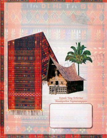 Download Desain Kartu Undangan Pernikahan Masyarakat Batak Toba