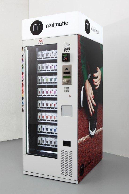GuestPost Le vernis Nailmatic by Souchka | Vending machine, Nail ...