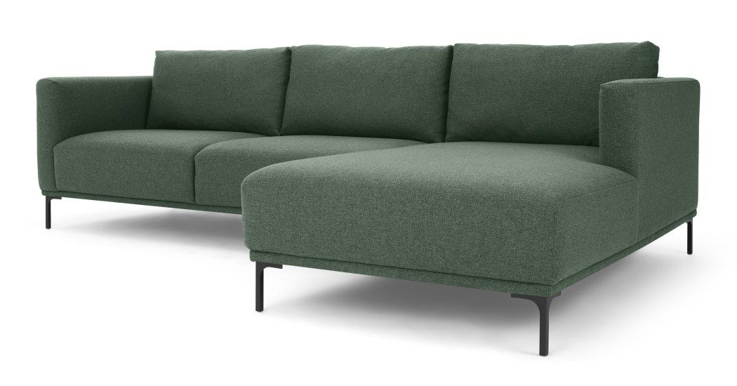 Milo Right Hand Facing Chaise End Corner Sofa Darby Green Decor In 2019 Corner Sofa Sofa Dining Furniture
