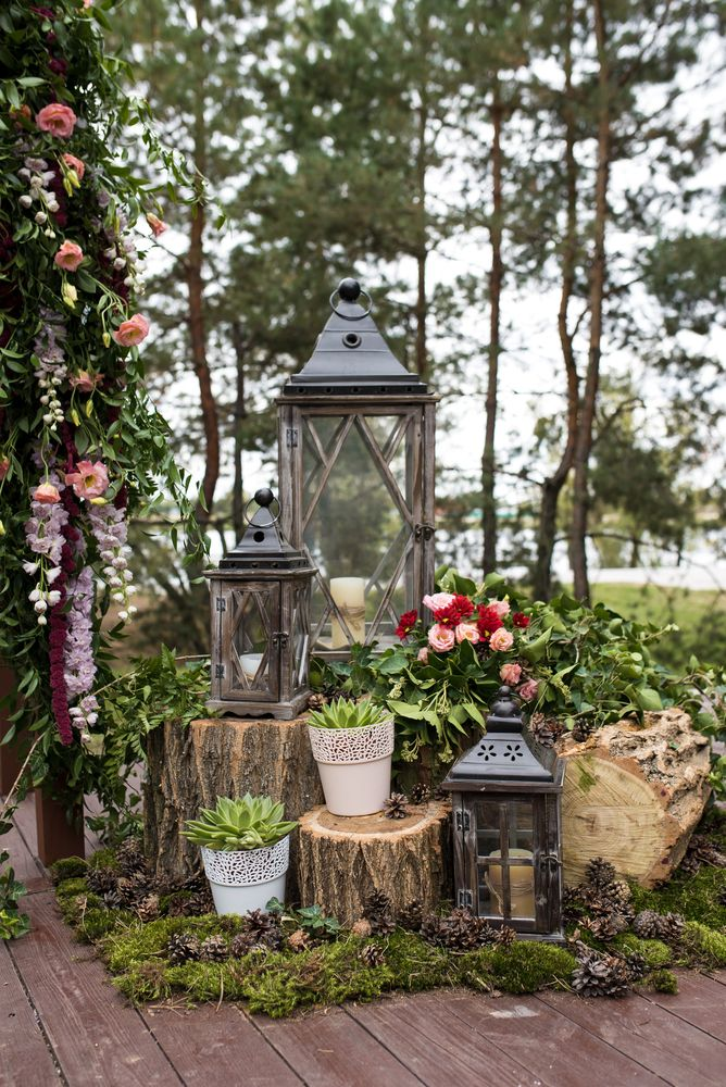 Turn Your Backyard into an Enchanted Forest Wedding ...