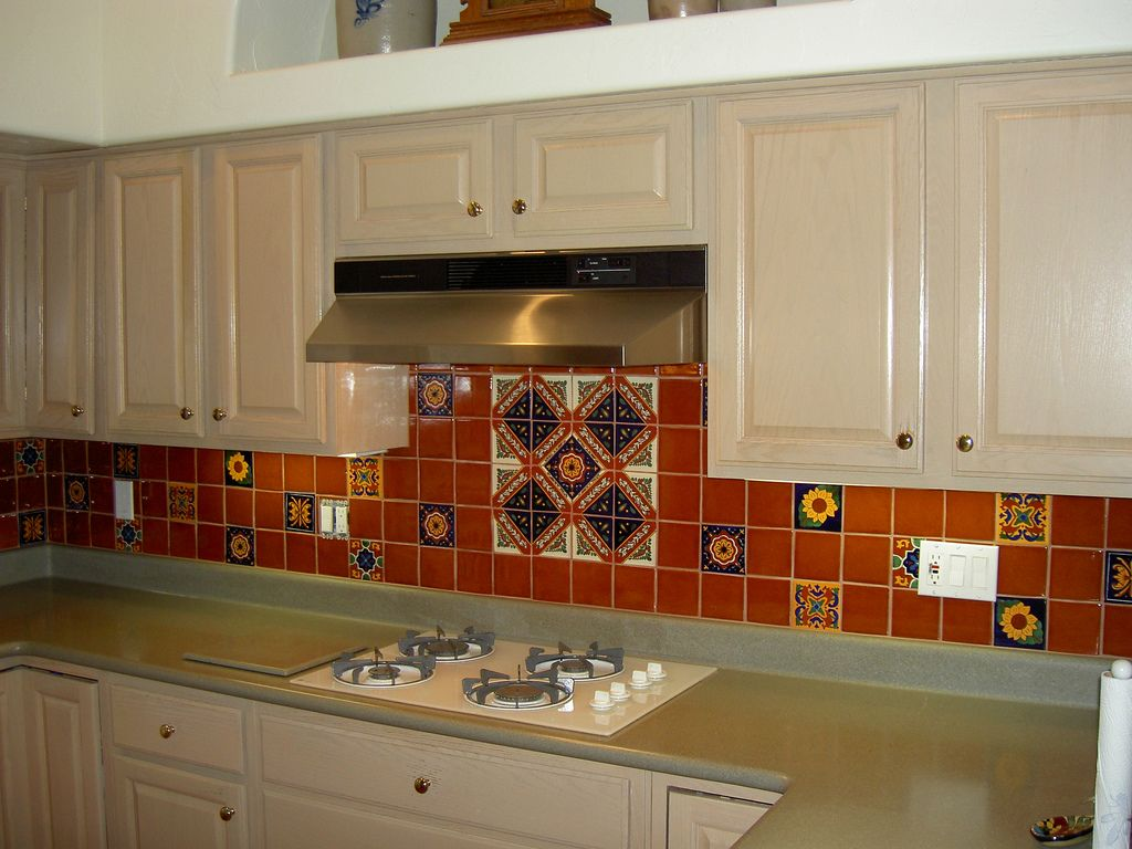 Mexican Tile Kitchen Backsplash Expressive Flickr Spanish Most