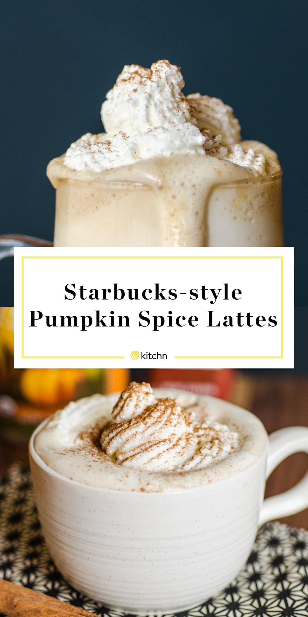 How to make pumpkin spice lattes even better than