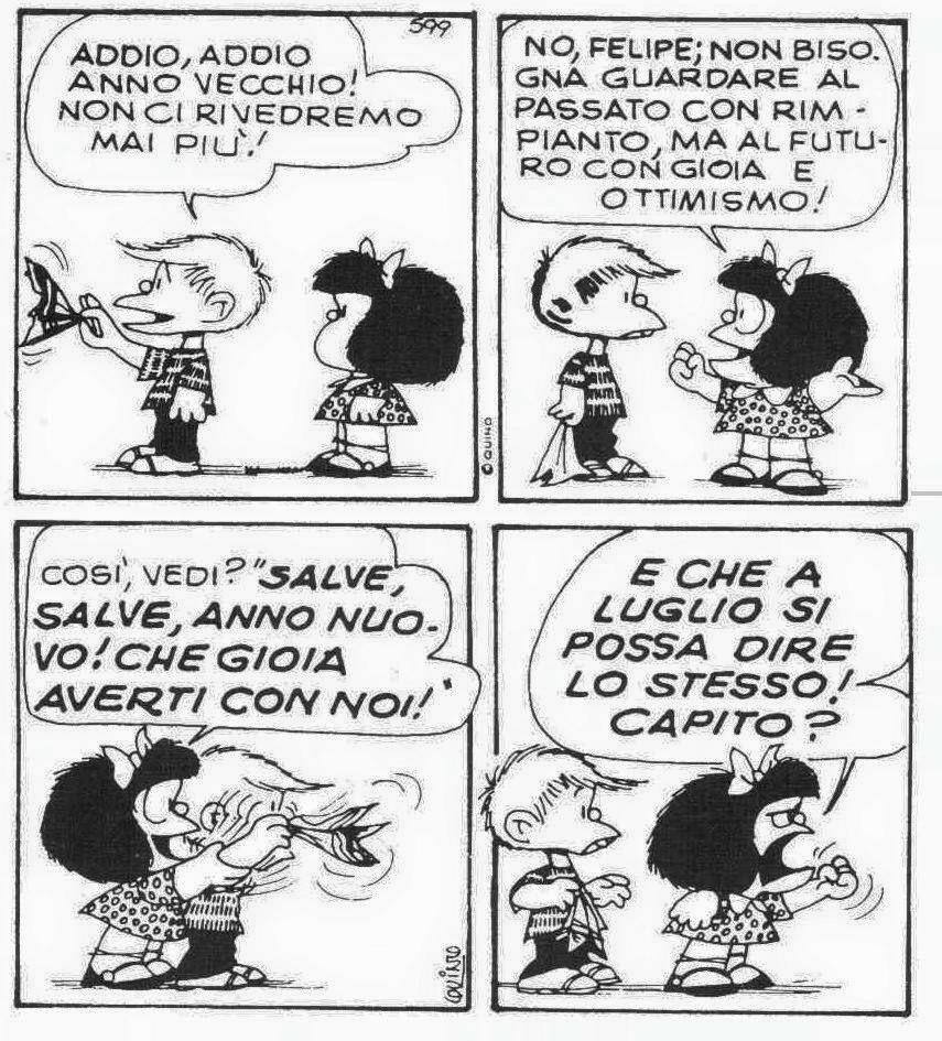 Buon Anno Umorismo Capodanno Vignetta Anno Nuovo