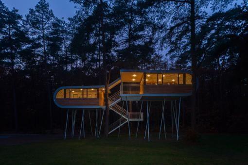 THE TREEHOUSE Hechtel-Eksel, Belgium by Baumraum