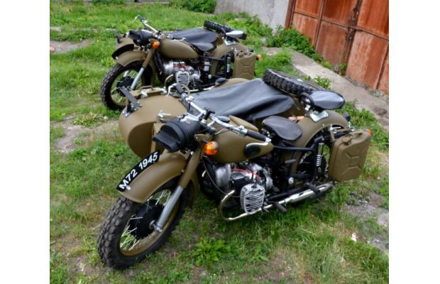 The 10 Coolest Military Vehicles For Sale On Ebay Right Now Military Vehicles For Sale Ural Motorcycle Motorcycle Sidecar