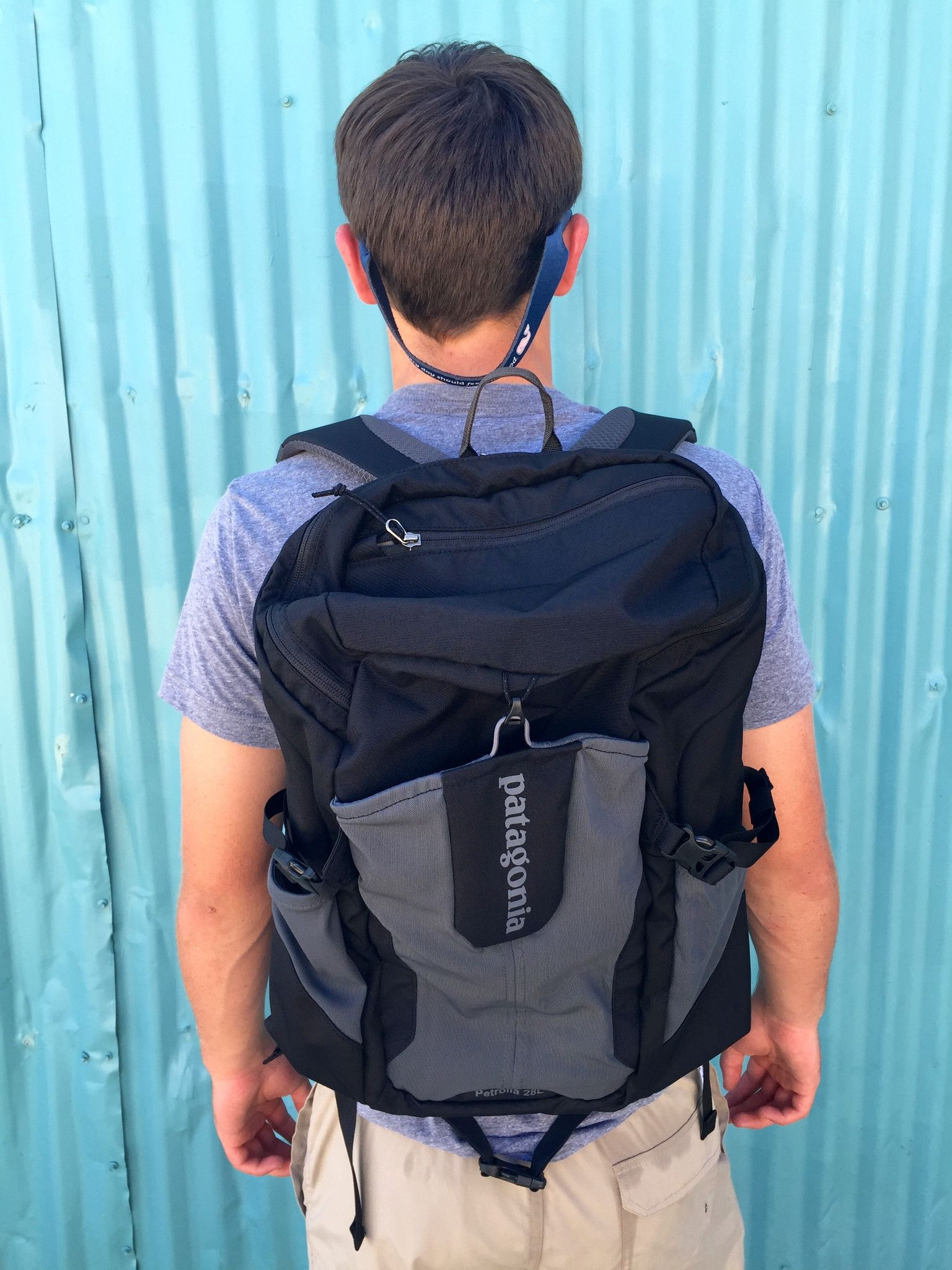 Patagonia Petrolia Pack 28L- Black from Shop Southern Roots TX
