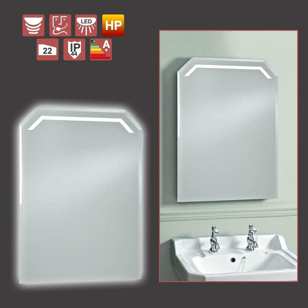 Shavolite bathroom mirror light with shaver socket